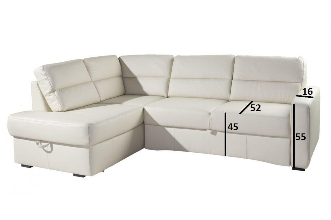 Rohová sedačka MODERN rozkládací látka
