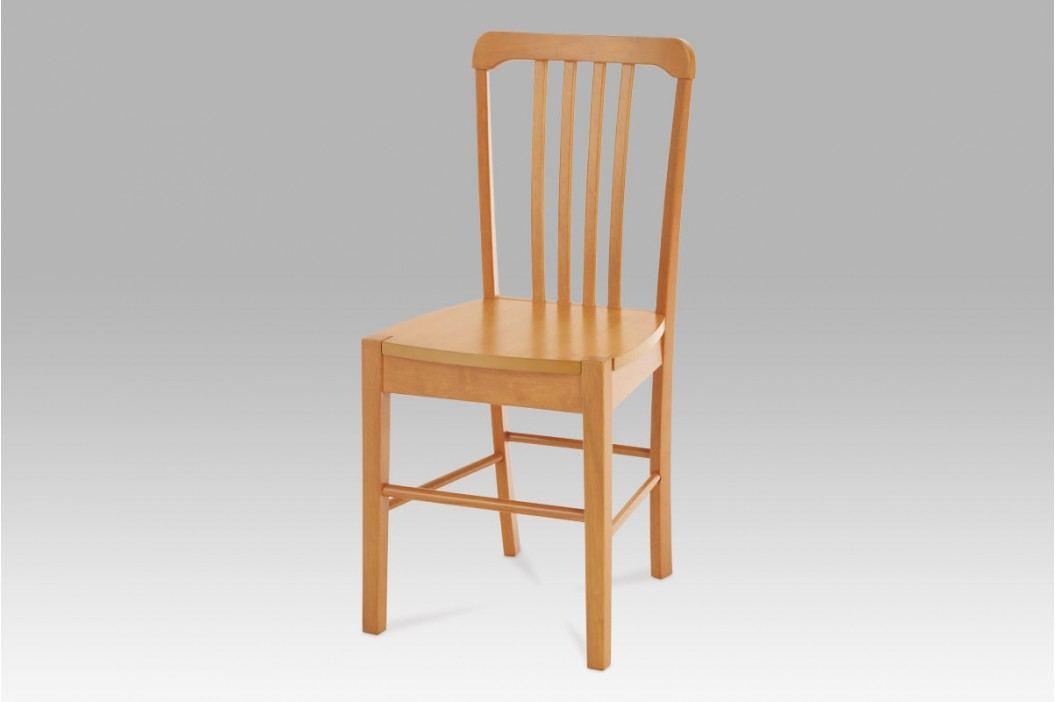 Jídelní židle celodřevěná dekor olše AUC-006 OL