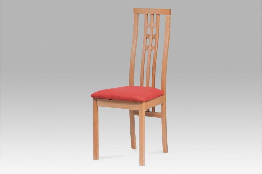 Jídelní židle dřevěná dekor buk S PODSEDÁKEM NA VÝBĚR BC-12481 BUK3