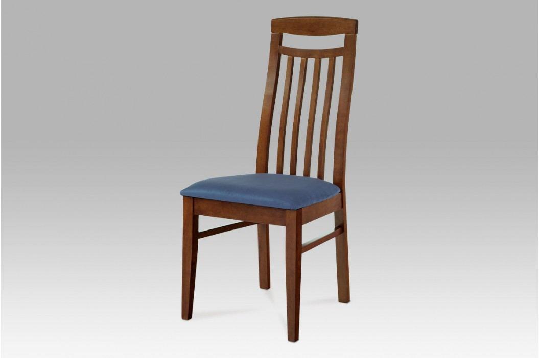 Jídelní židle dřevěná hnědá S PODSEDÁKEM NA VÝBĚR BE810 BR AKCE