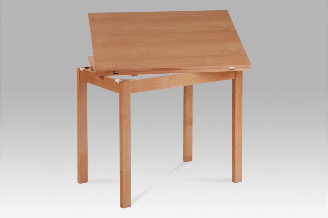 jídelní stůl rozkládací 60+60x90, buk BT-4723 BUK3 obrázek inspirace