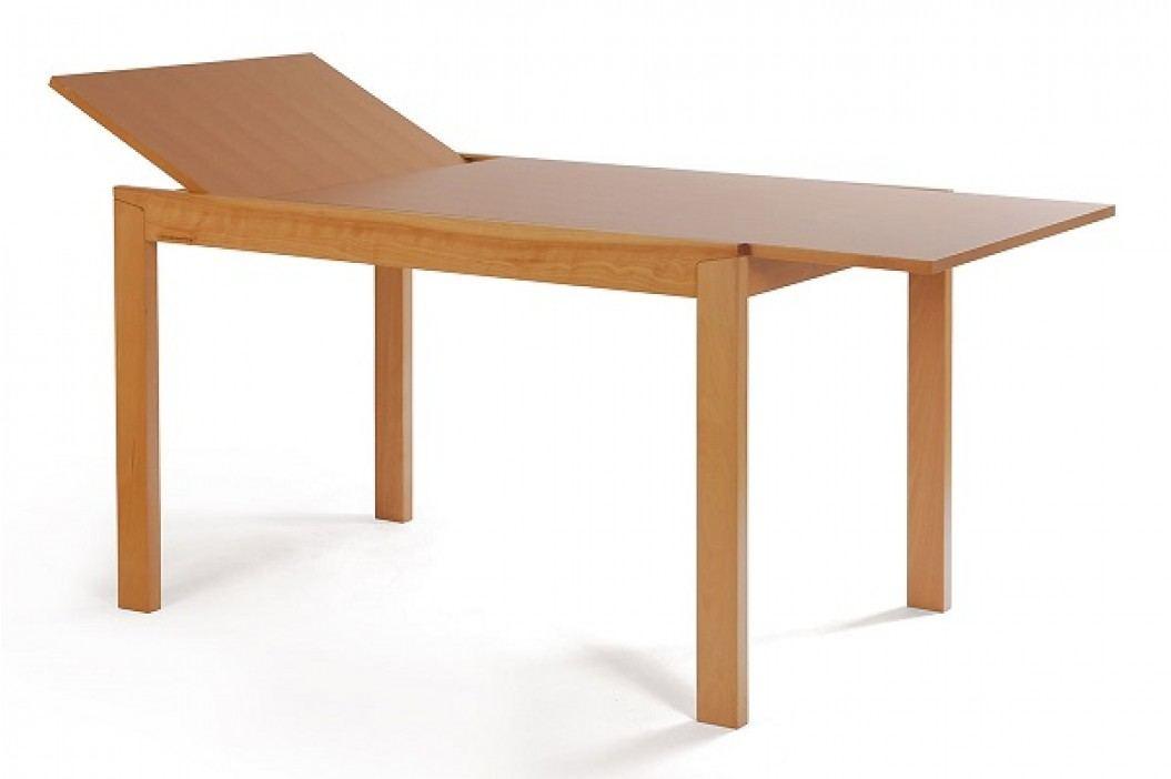 Jídelní stůl dřevěný rozkládací 120 x 80 cm dekor buk (T-4645) BT-6745 BUK3