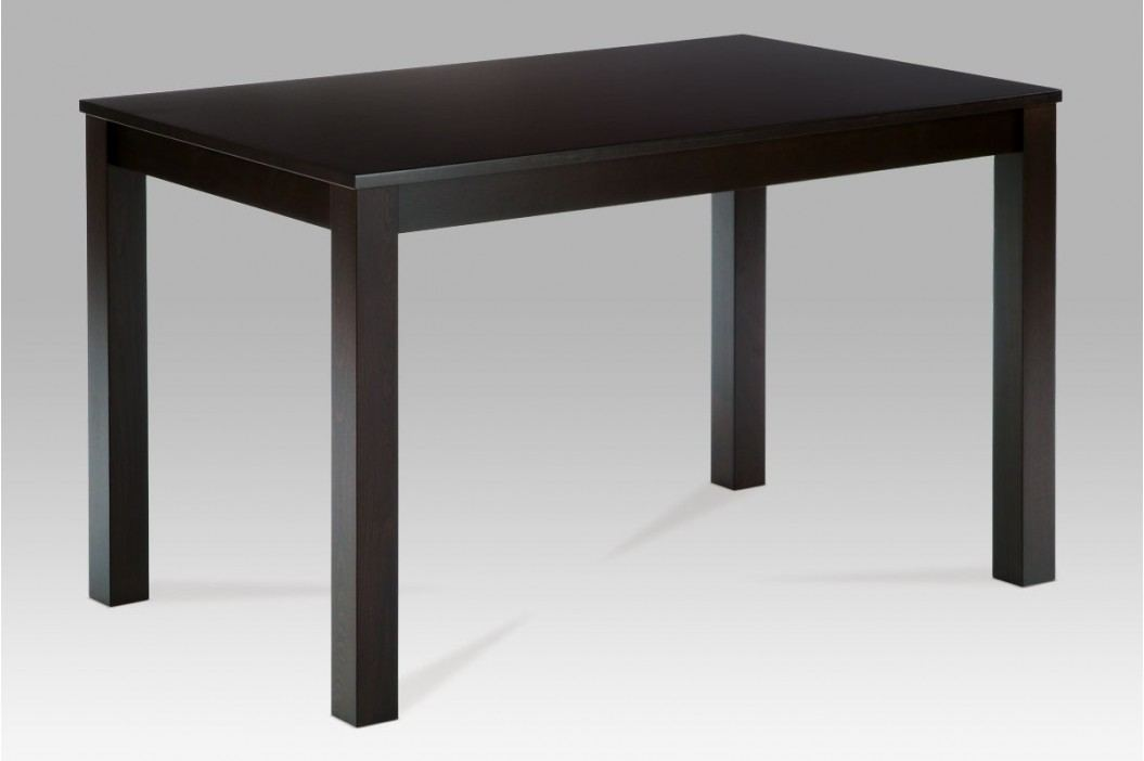 Jídelní stůl dřevěný 120 x 75 cm dekor wenge BT-6957 BK