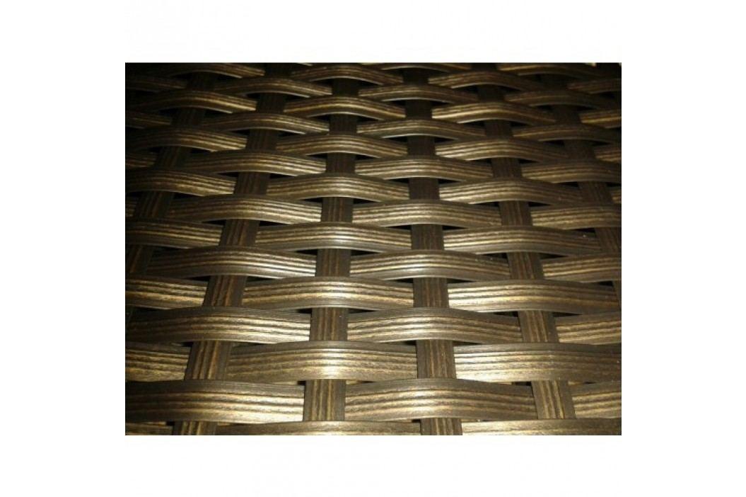 Stůl 70x70 cm v hnědém provedení BARCELONA