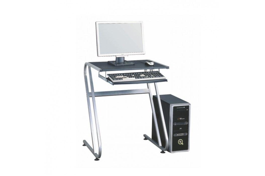 Kancelářský stůl v jednoduchém moderním provedení černá Jofry