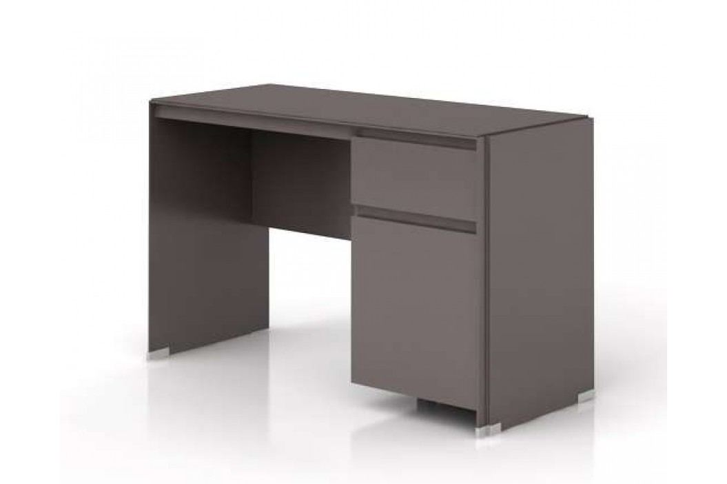 Psací stůl FINI BIU1D1S 7/12 šedý volfram