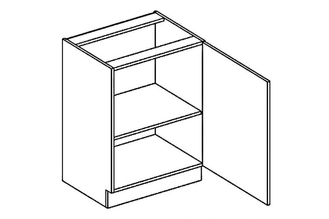 D60P dolní skříňka jednodvéřová COSTA obrázek inspirace