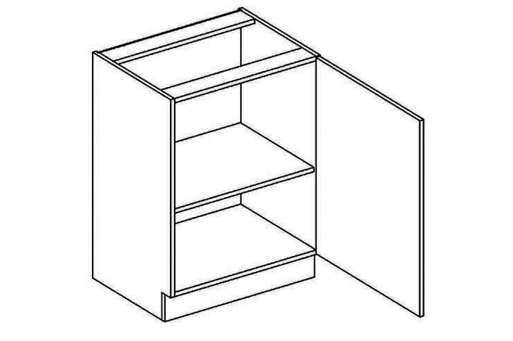 D60P dolní skříňka jednodvéřová NORA de LUX hruška obrázek inspirace