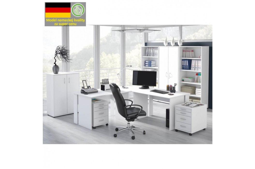 PC stůl v jednoduchém moderním provedení BEK - 09