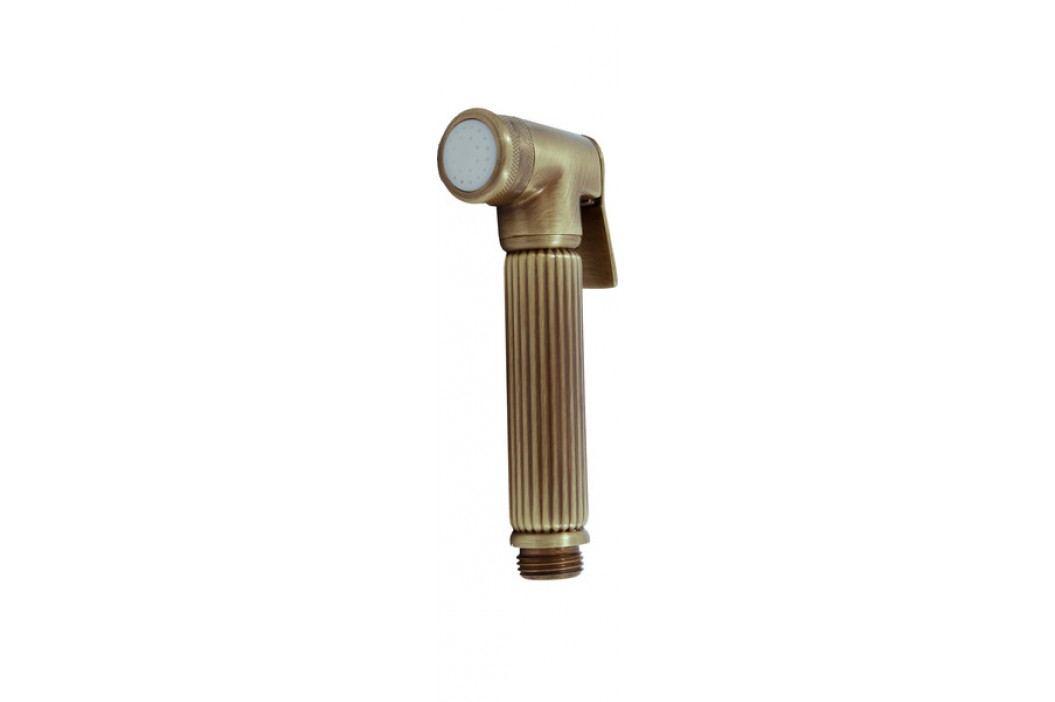 Sprchová růžice se stop ventilem KS0005SM stará mosaz