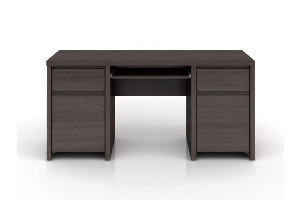 Psací stůl KASPIAN BIU2D2S/160 wenge