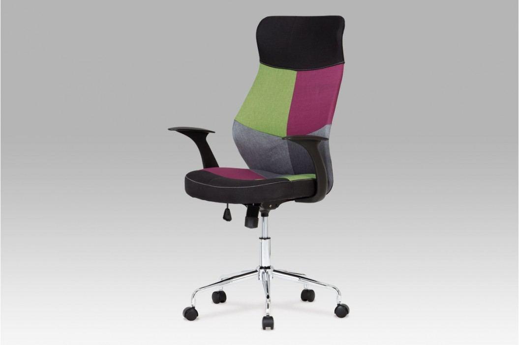 Kancelářské křeslo látka mix barev KA-N848 COL