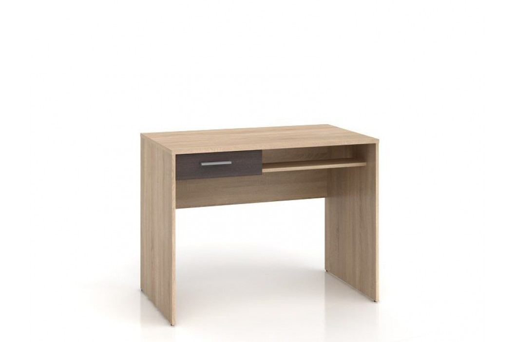 Psací stůl NEPO BIU1S dub sonoma/wenge
