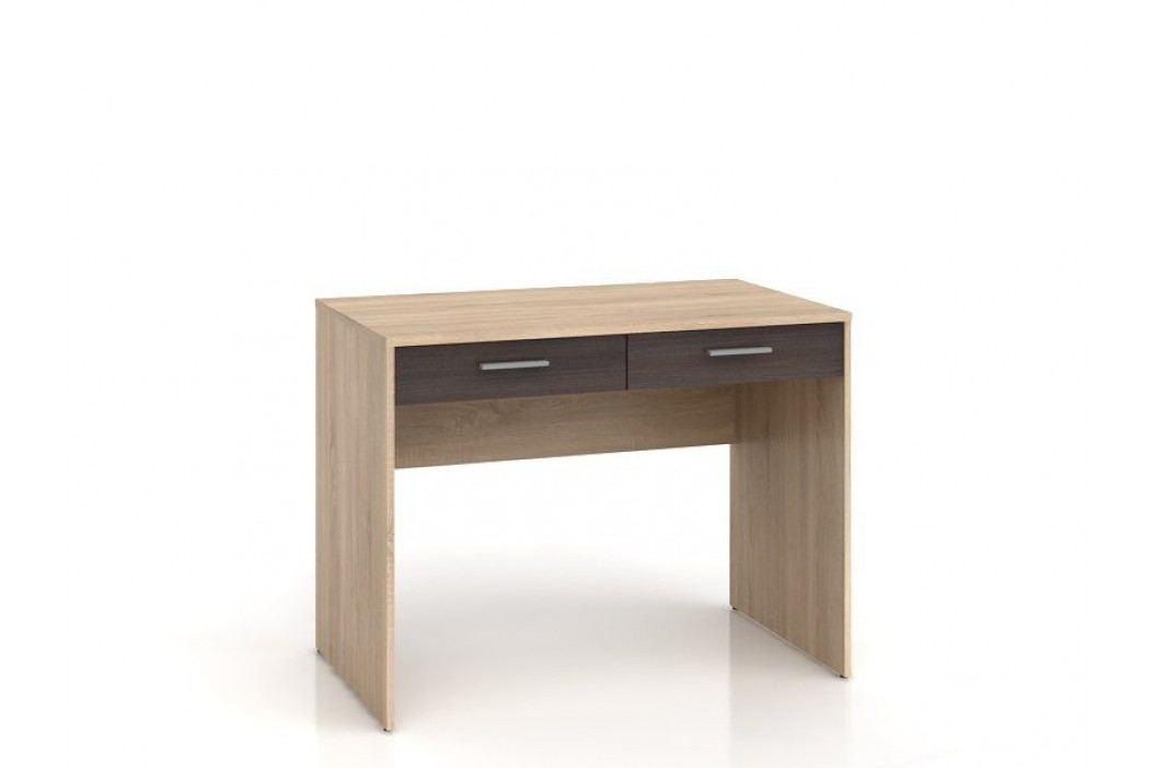 Psací stůl NEPO BIU2S dub sonoma/wenge