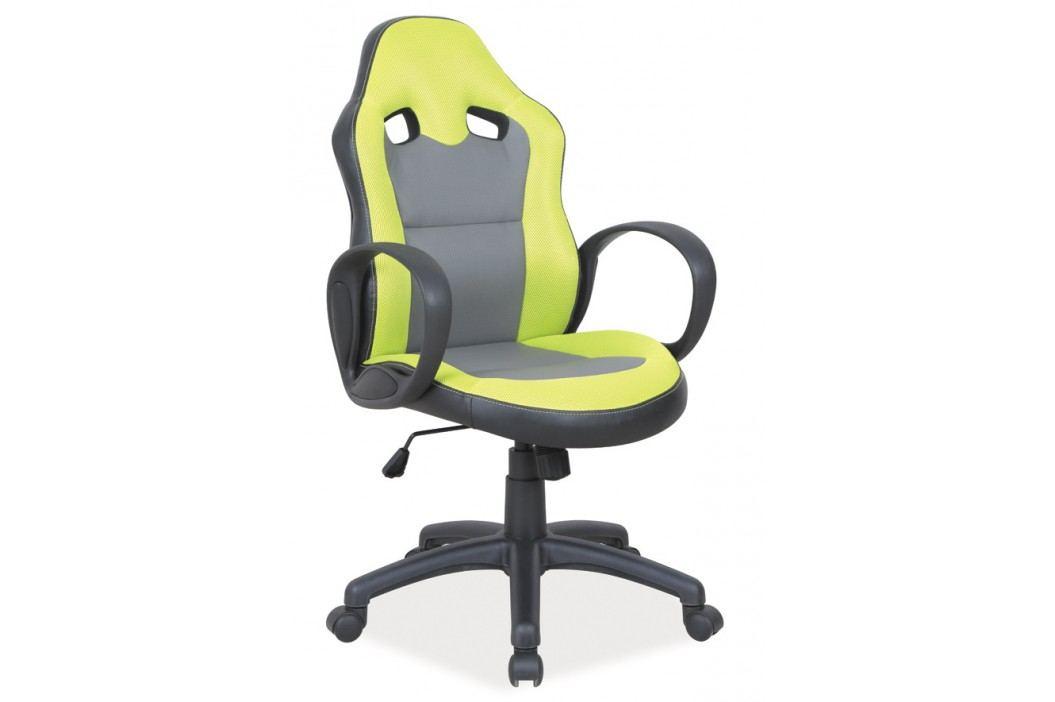 Moderní kancelářské křeslo v zelené barvě KN058