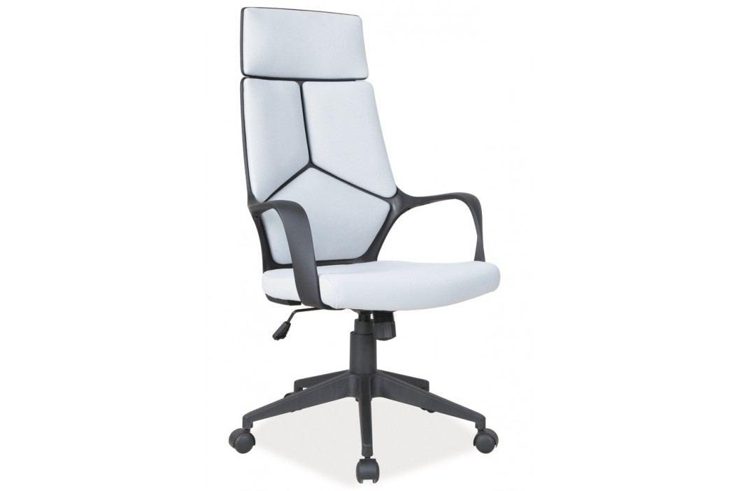 Moderní kancelářské křeslo v šedé barvě KN055