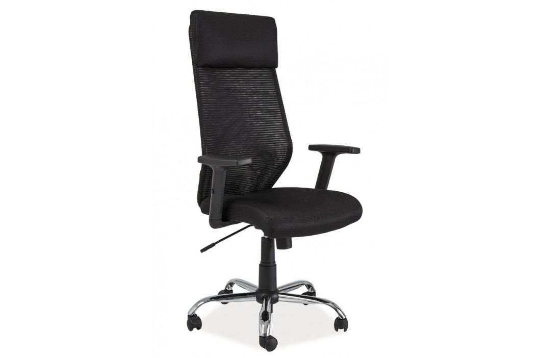 Moderní kancelářské křeslo v černé barvě KN061
