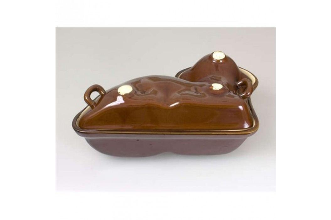 Forma beránek keramická 31 x 19,5 x 13 cm