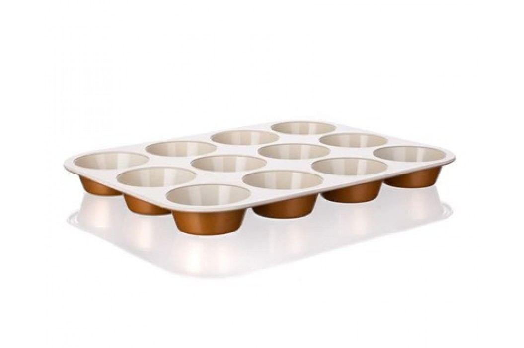 Forma na 12 muffinů s keramickým povrchem GOURMET CERAMIA 35 x 26,5 x 3 cm