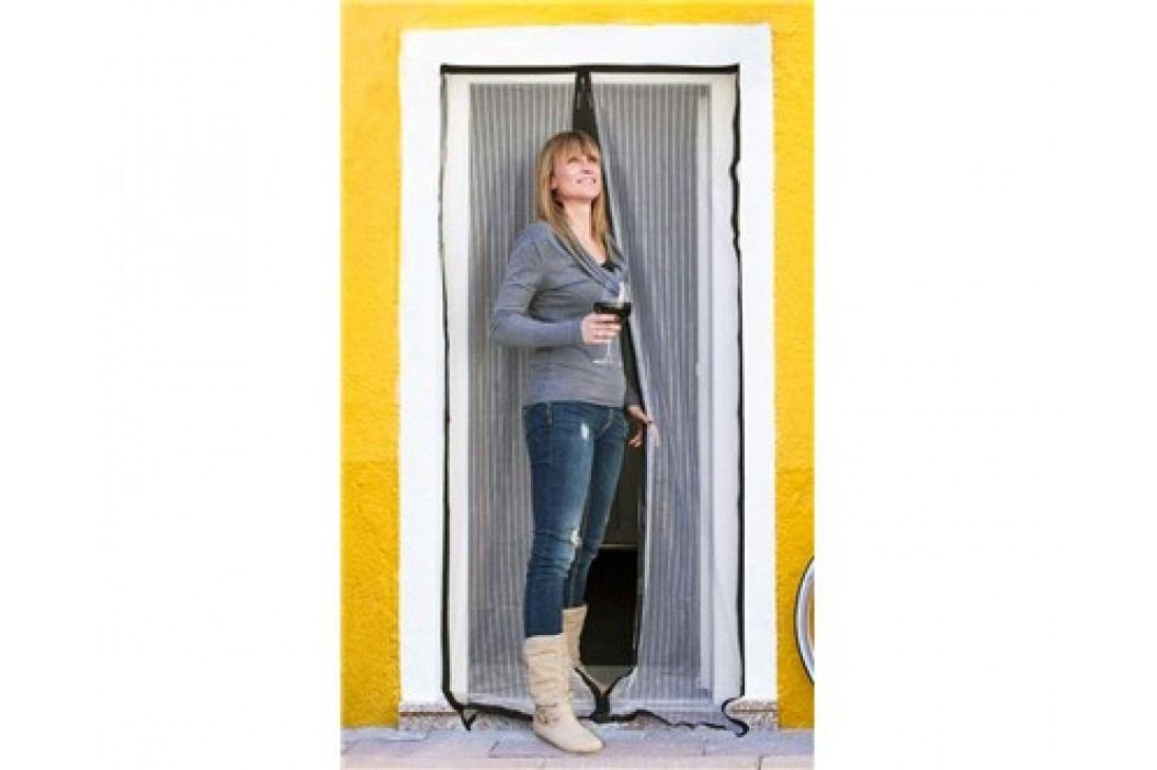 Síť na dveře proti hmyzu 100 x 210 cm, bílá
