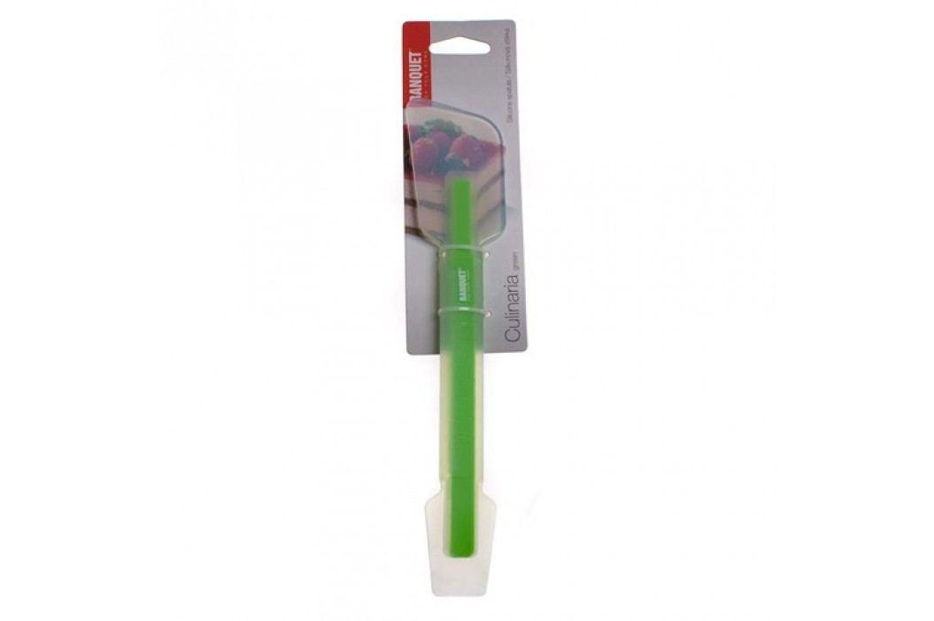 Stěrka silikonová malá/velká CULINARIA green 25,4 cm, 2 v 1