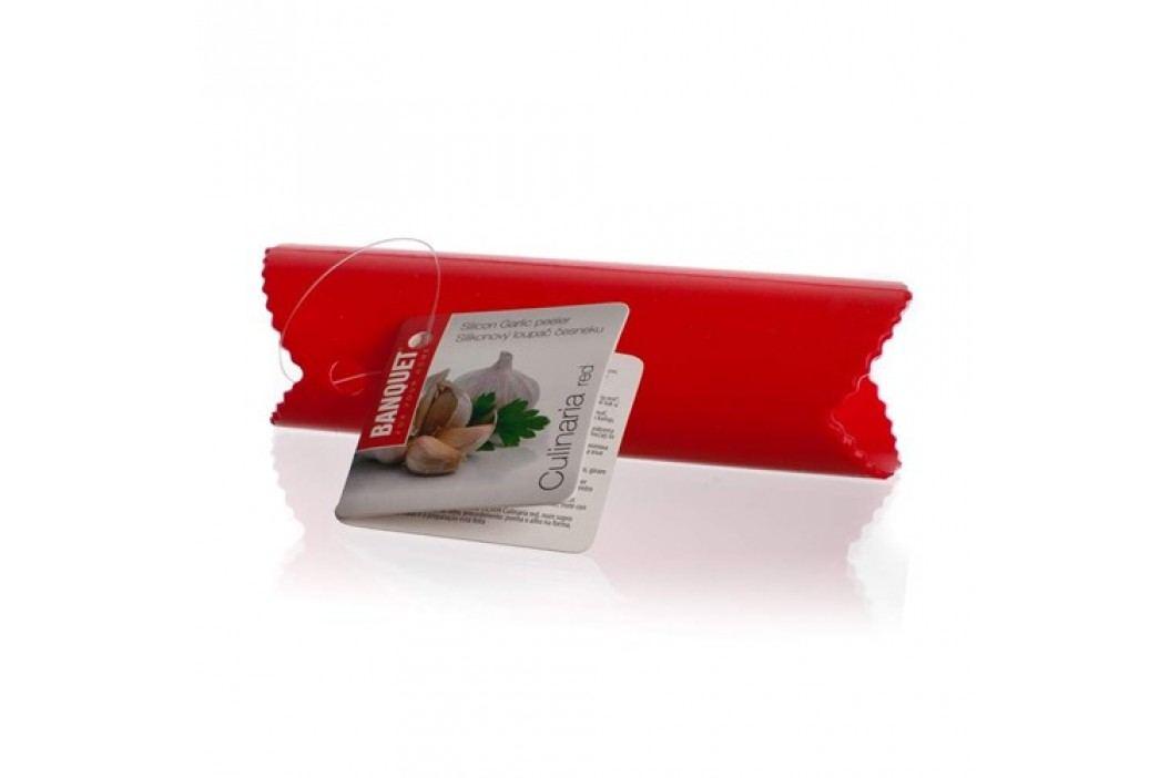 Loupač na česnek silikonový CULINARIA Red 13,5 cm