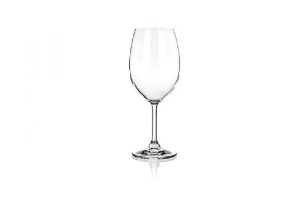 CRYSTAL Sada sklenic na červené víno LEONA 430 ml, 6 ks, OK