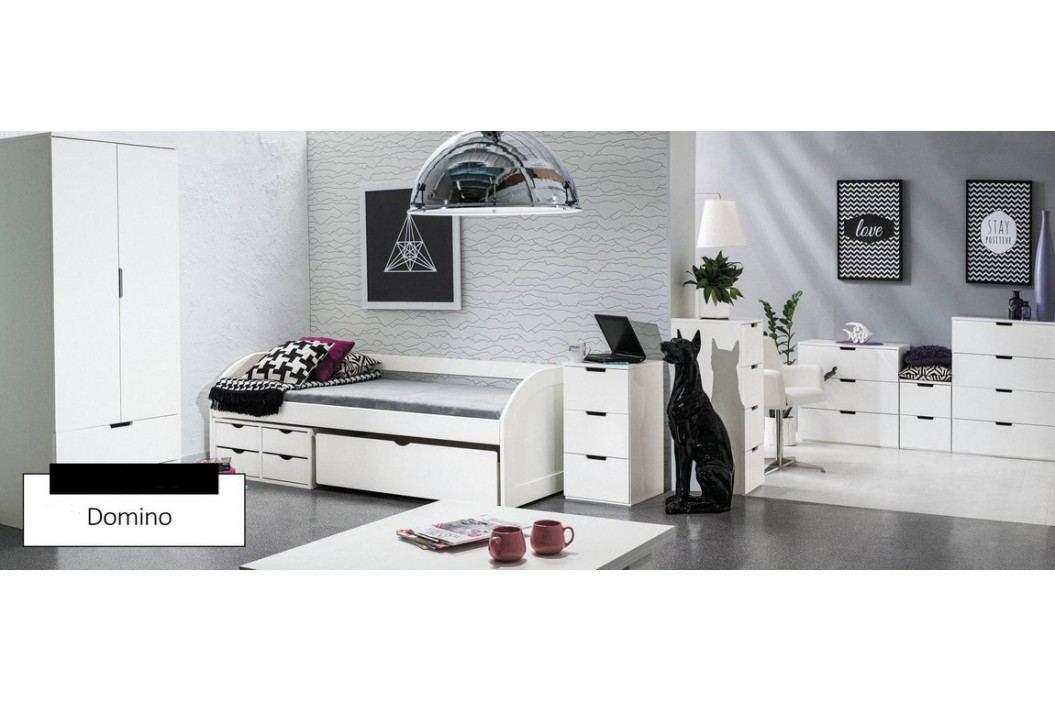 Moderní pracovní stůl v severském stylu v bílé barvě typ B2 KN071