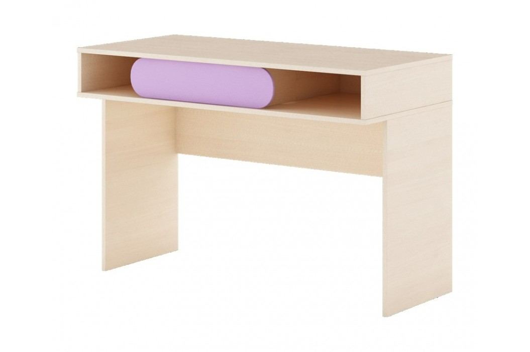 Dětský pracovní stůl v dekoru dub kremona a lavenda G14 KN083