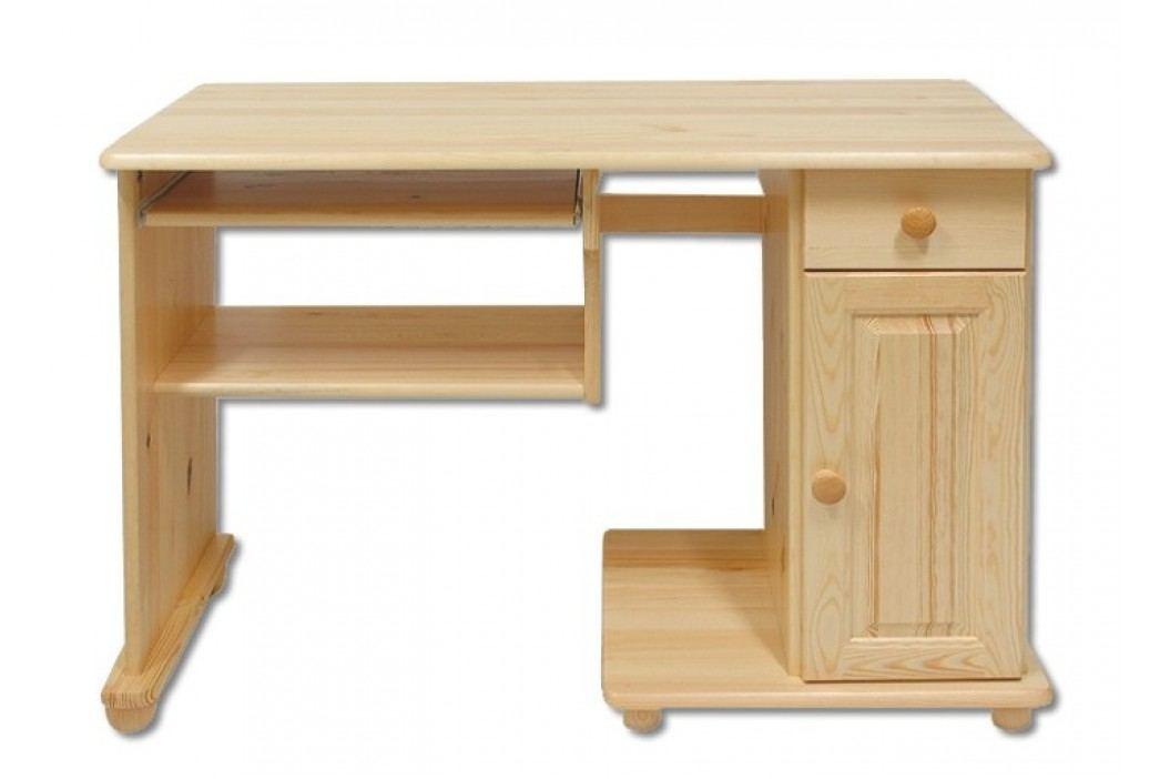 Dřevěný pracovní stůl se zásuvkou typ RB114 KN095
