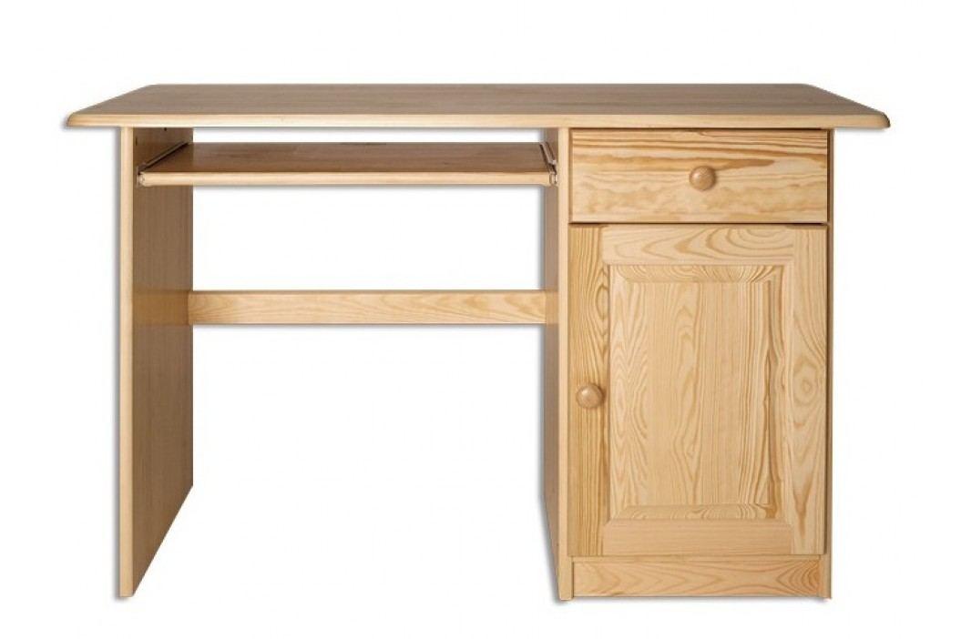 Dřevěný pracovní stůl se zásuvkou typ RB109 KN095