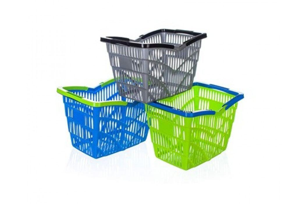 Košík nákupní plastový 38,5x28x25 cm