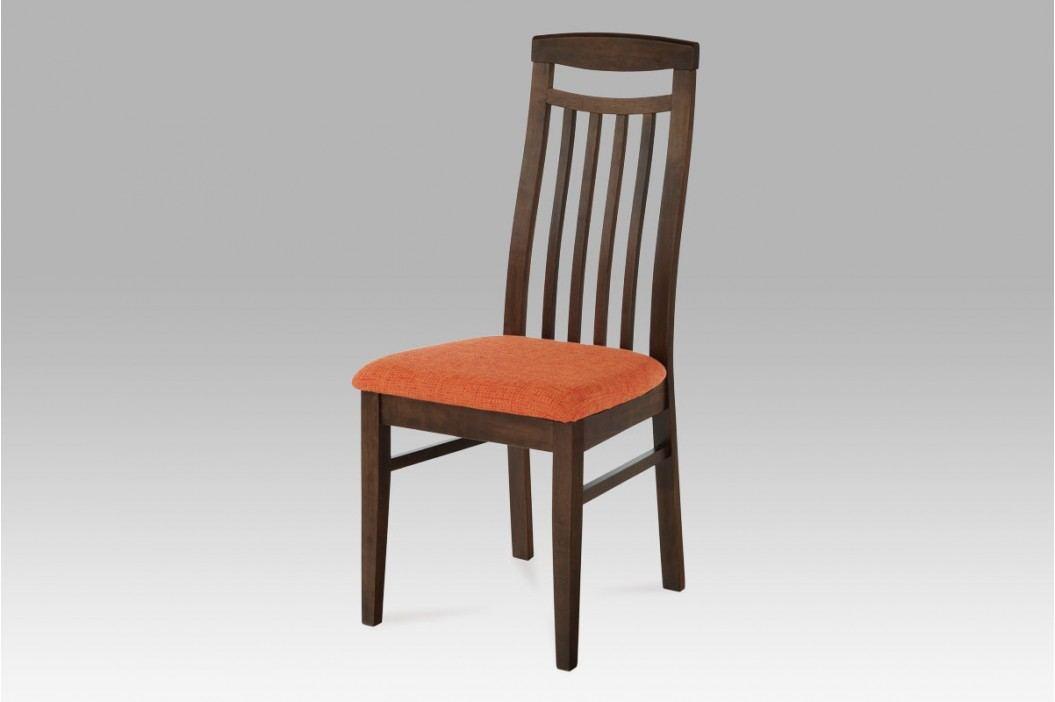 židle BEZ SEDÁKU, barva ořech BE810 WAL AKCE