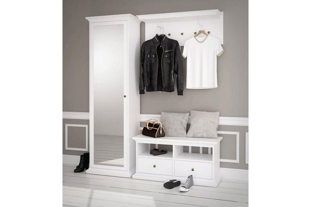 Předsíňová stěna v bílé barvě F1097