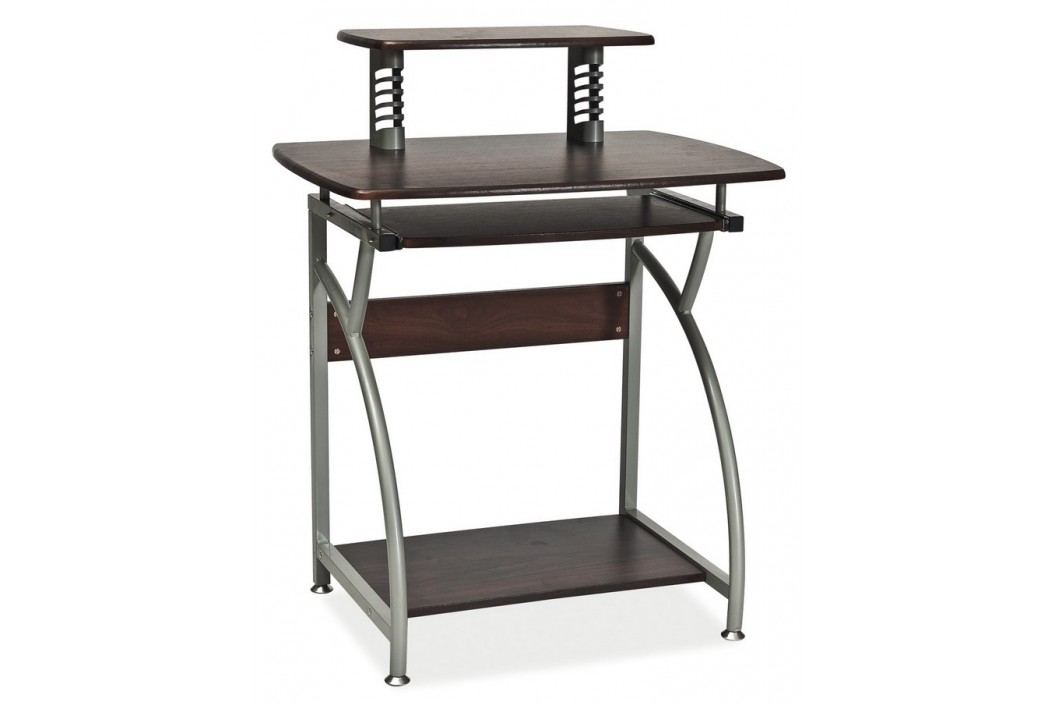 Pracovní stůl B-07 tmavě hnědá