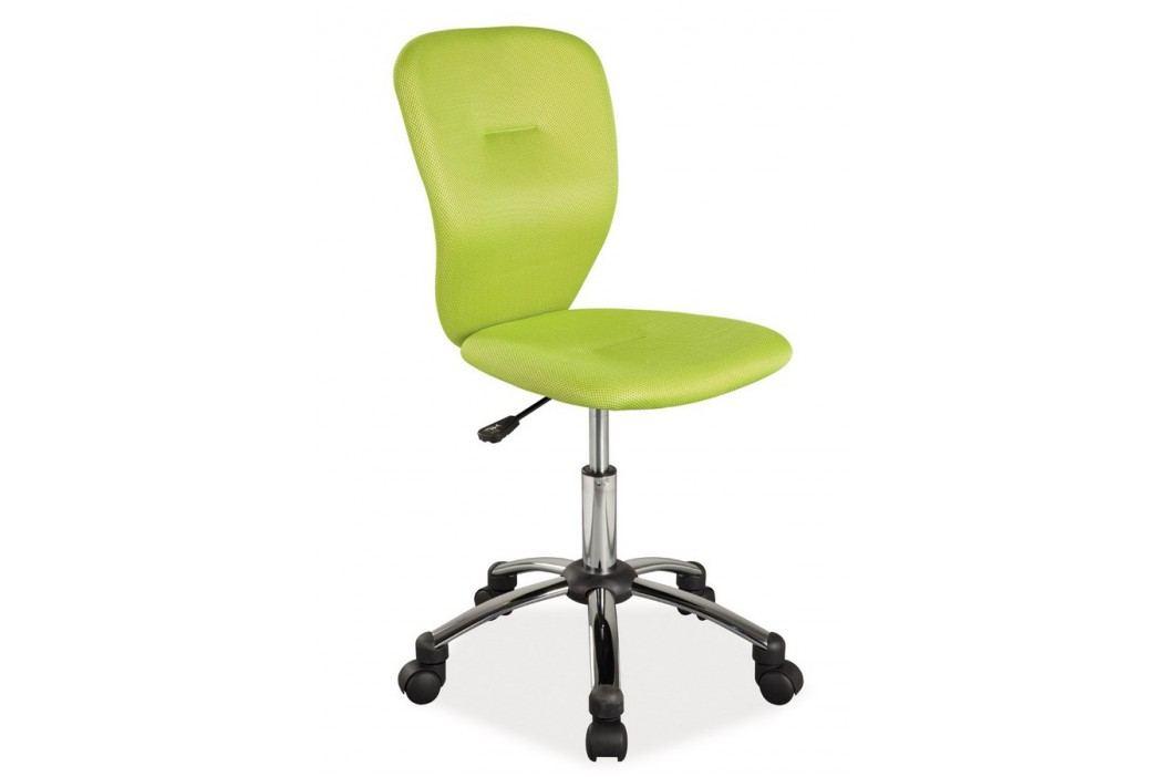 Kancelářská židle zelené barvy KN378 obrázek inspirace