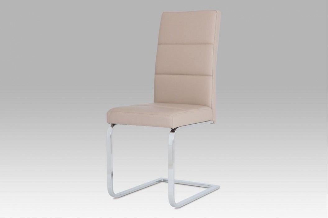 Jídelní židle pohupovací ekokůže cappuccino NEW B931N CAP1