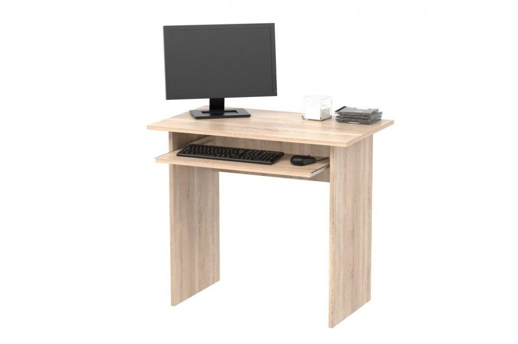 Psací stůl 82x50 cm v provedení dekoru dub sonoma TK2077