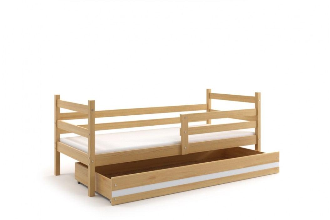 Dětská postel v dekoru borovice F1274