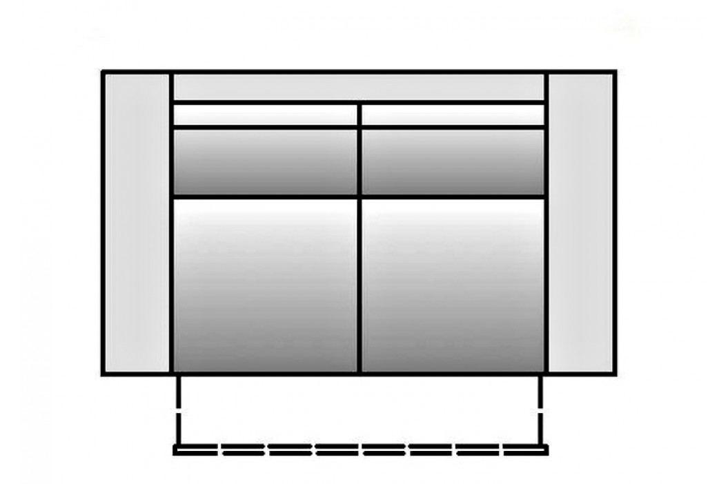 Pohovka s úložným prostorem s možností výběru potahu B2 KN645