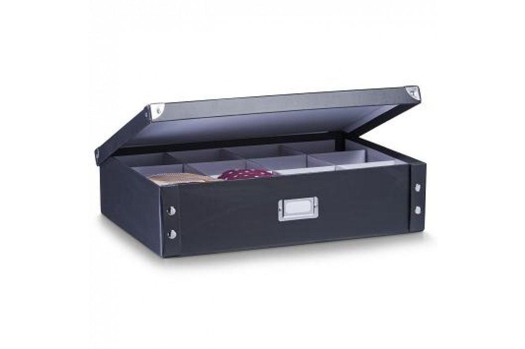 Box úložný na kravaty a opasky černý E423