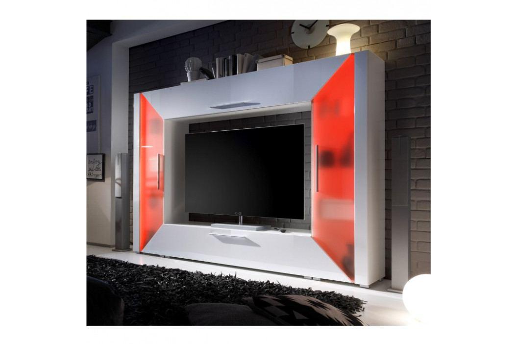 TV stěna s vysokým leskem TK2241 obrázek inspirace