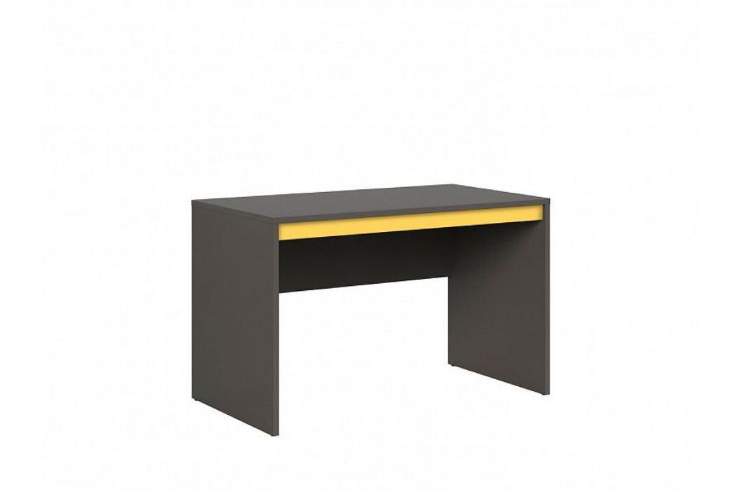 Psací stůl GRAPHIC II BIU/120 šedý wolfram obrázek inspirace