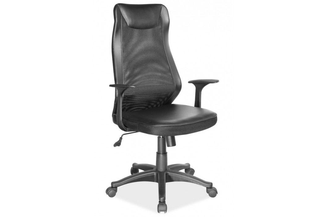 Kancelářské otočné křeslo v černé barvě KN998