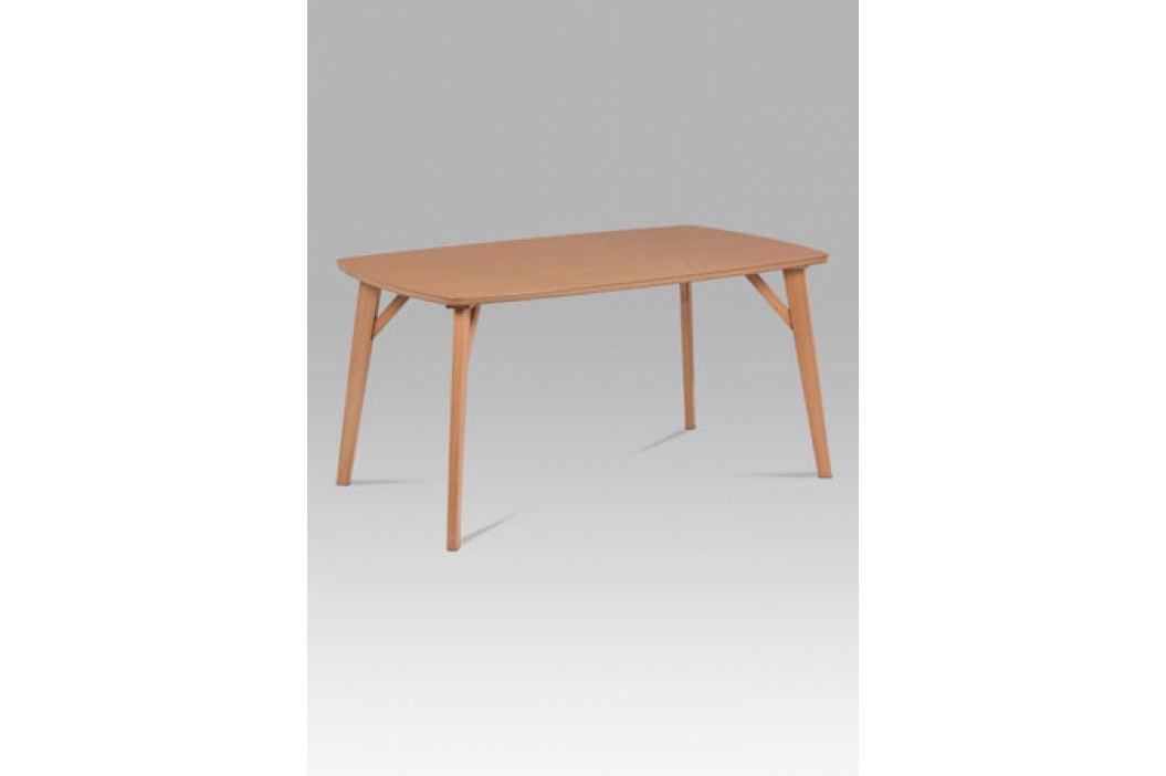 Dřevěný jídelní stůl 150x90 cm v dekoru buk BT-6440 BUK3