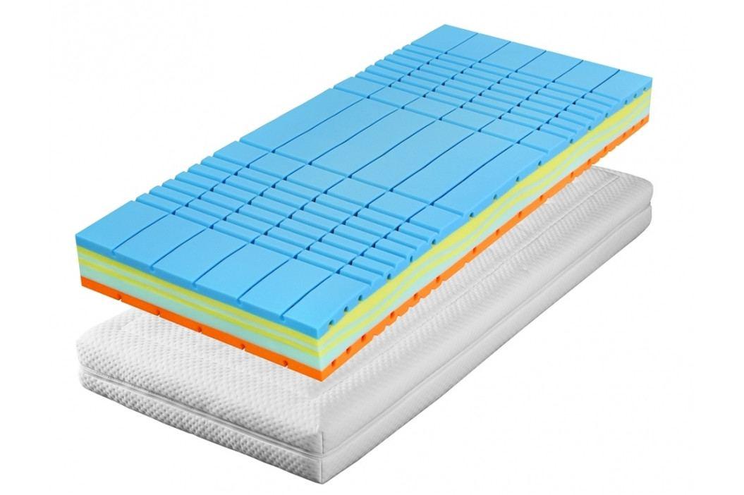 Pěnová matrace 90x200x20 cm set 2 ks KN1087