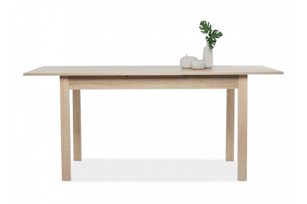 Jídelní rozkládací stůl 140x80 cm v dekoru dub sonoma DO058 obrázek inspirace