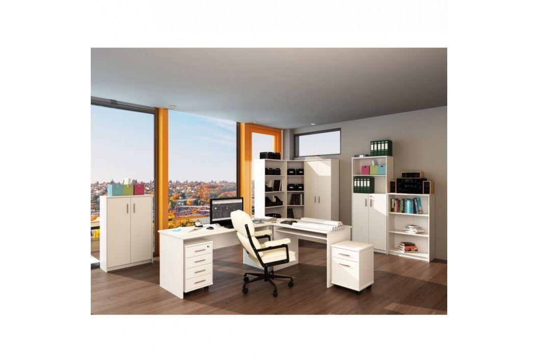 Kancelářský stůl oboustranný bílý NEW 08 TK32225