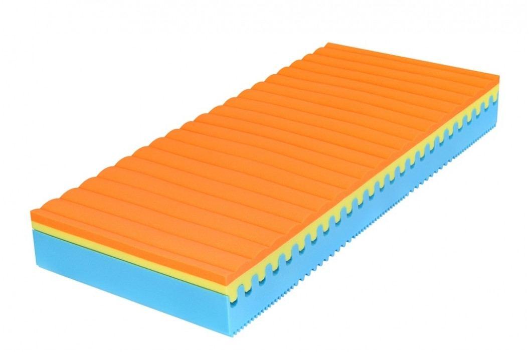 Pěnová matrace 80x200x26cm set 2 ks KN1091