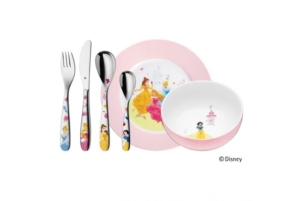 WMF Dětské nádobí Princezny Disney, dětská jídelní sada 6 ks, s příborem